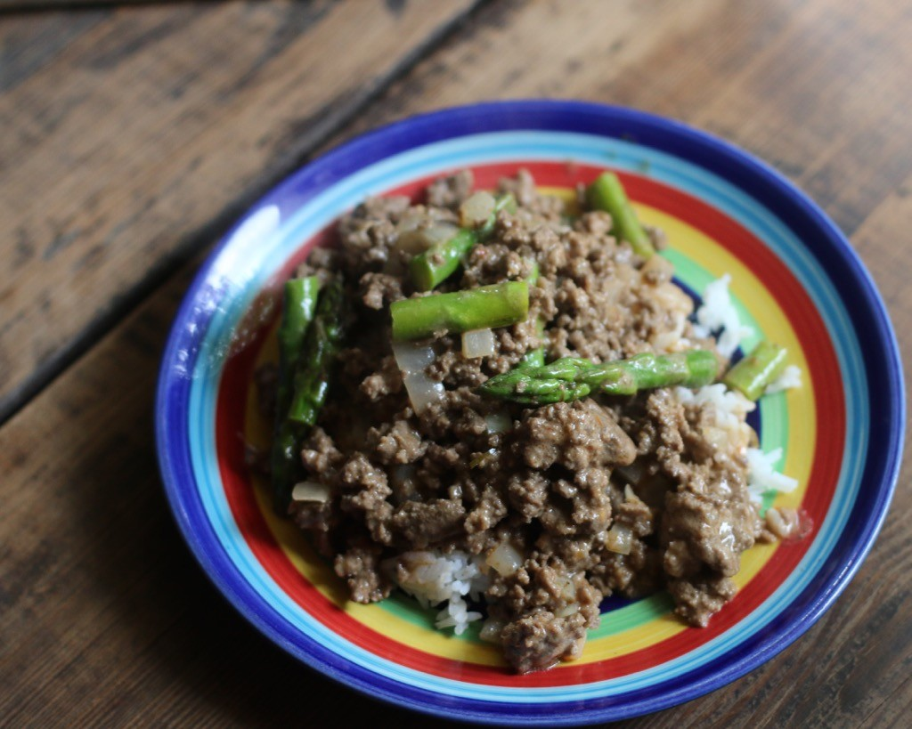 Thai Curry Ground Beef